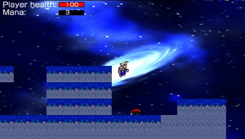 New PSP Homebrew Release Diamondsion Assault: Run and Jump to Victory!